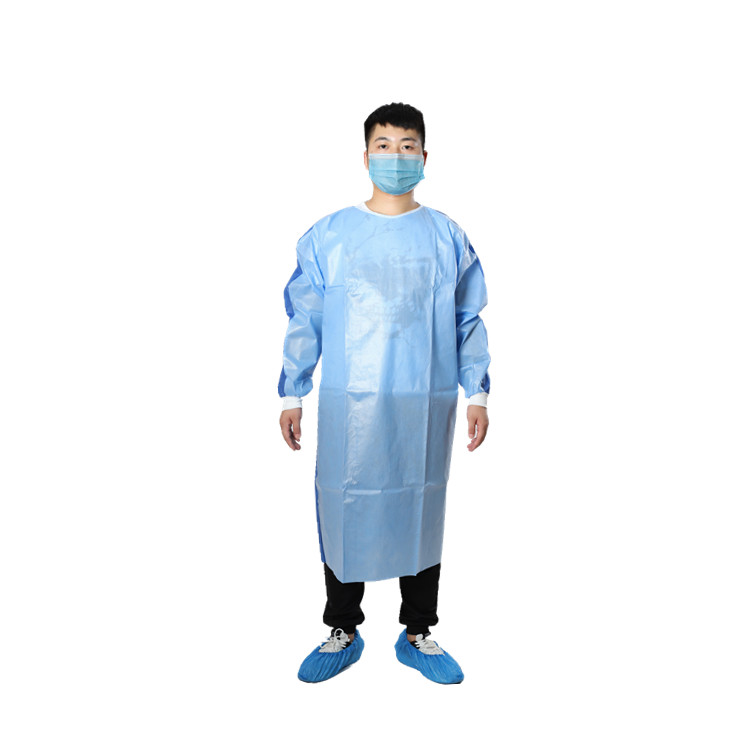 Disposable PP+PE Surgical Gown