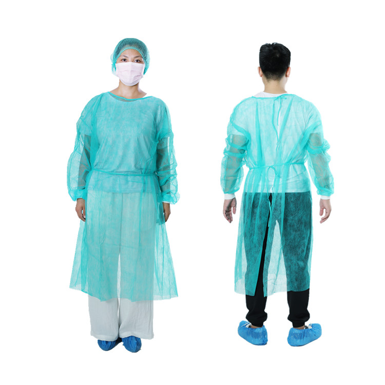 Disposable PP Isolation Gown
