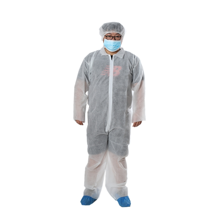 Disposable Coverall Without Hood - PP