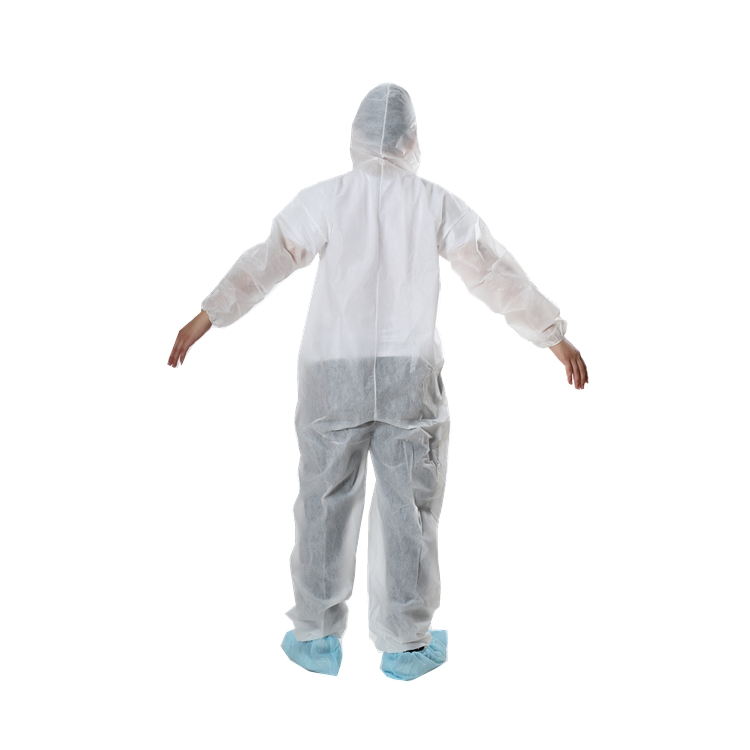 Disposable Coverall With Hood - PP