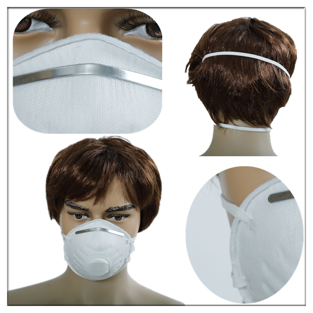 Disposable cup face mask