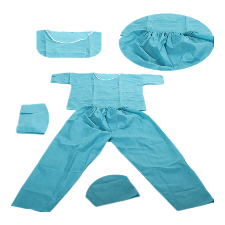 Disposable Scrub Suit - Round Neck