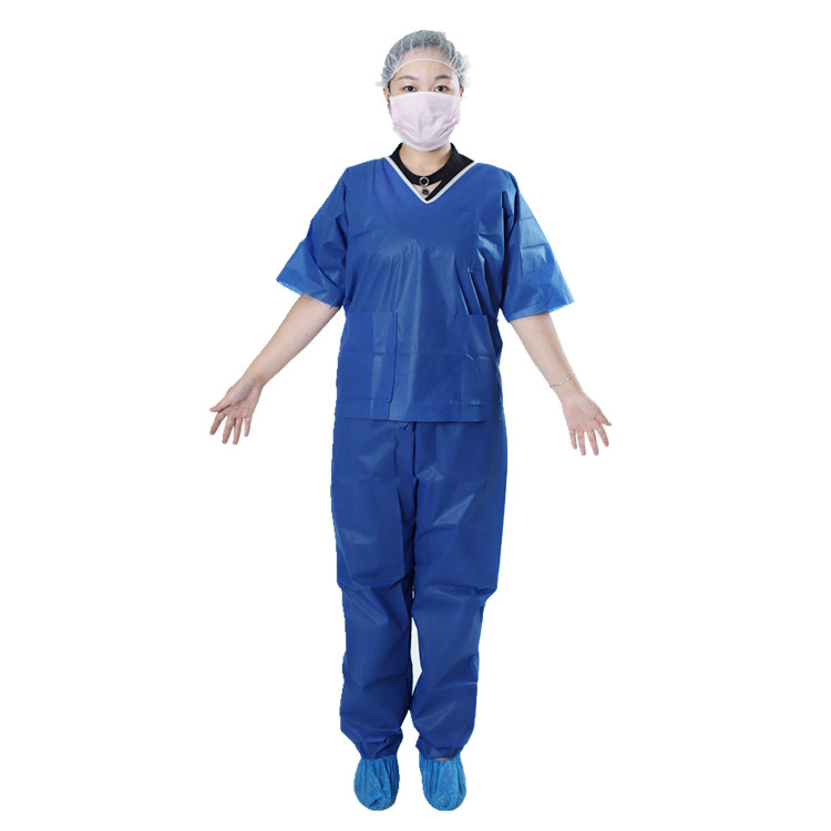Disposable Scrub Suit - V Neck